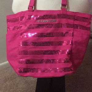 VS Pink sequin bag
